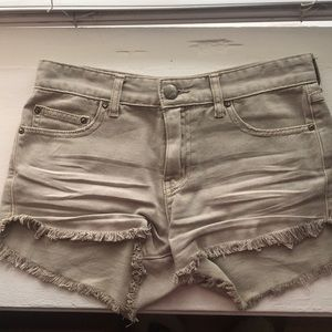 Free People distress's jean shorts